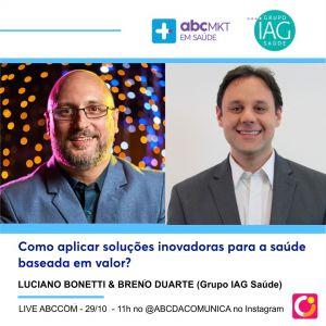 Live ABCCOM: Como aplicar soluções inovadoras para a saúde baseada em valor