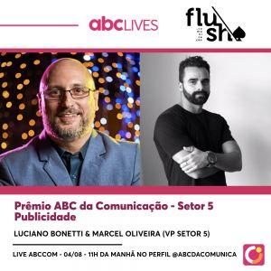 Live ABCCom: Prêmio ABC – Setor 5 Publicidade com Marcel Oliveira